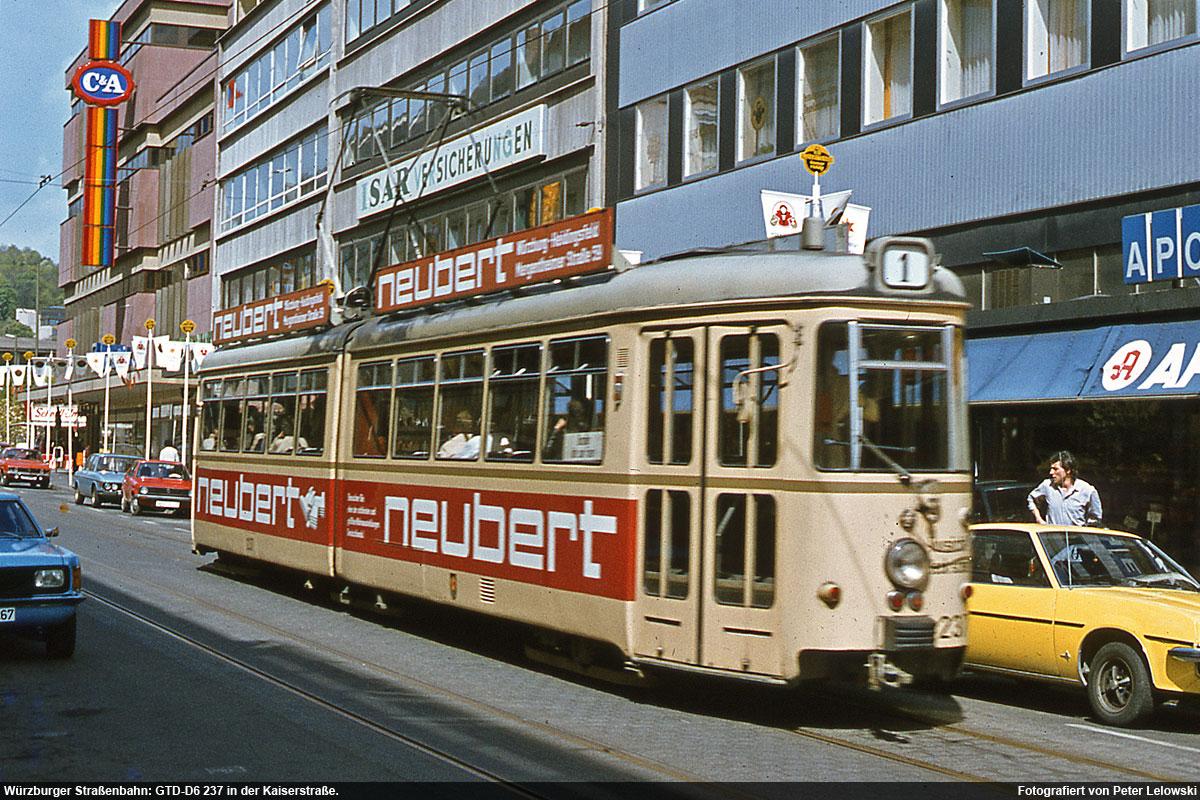 Viele Hochwertige Fotos über Die Straßenbahn In Würzburg